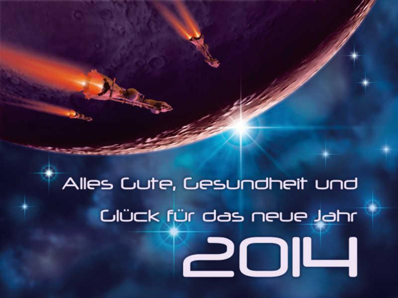 Neujahrsgruss 2014